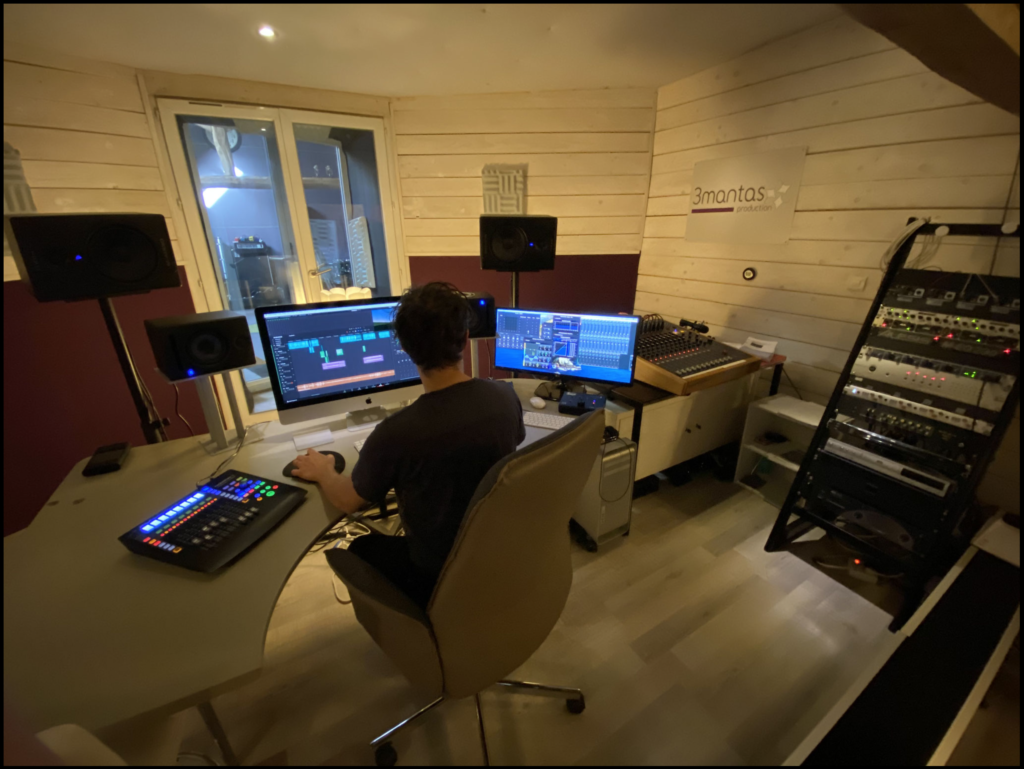 studio mixage film post production eure et loir région centre val de Loire